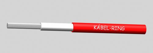 H1Z2Z2-K 1x4 Piros 500m - Kábel szolár rendszerekhez.