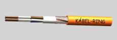 NHXCH E90 10x1,5/2,5 - árnyékolt, halogénmentes tűzálló kábel