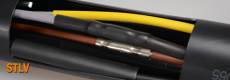 Kisfeszültségű hőre zsugorodó kábelösszekötőszett toldóhüvely nélkül 4x2,5-4x10
