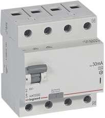 RX3 áram-védőkapcsoló 4P 25A A 30MA