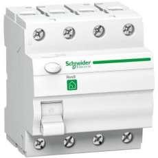 RESI9 áram-védőkapcsoló, AC osztály, 4P, 25A, 30 mA