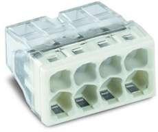 Vezetékösszekötő 8P 0,5-2,5mm2 fix