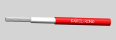 H1Z2Z2-K 1x6 Piros 500m - Kábel szolár rendszerekhez.