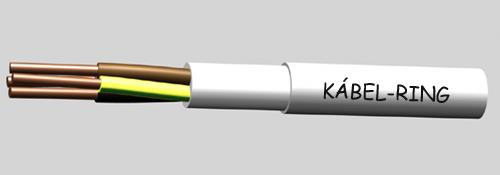 YM-J régi nevén MBCu kábel, általános villanyszereléshez